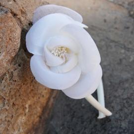Diadema Camelia Flor